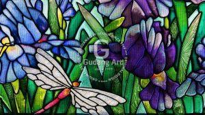 Menerapkan Kaca Patri Motif Flora Untuk Rumah Kesayangan