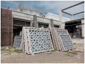 Modifikasi Tralis Cor Aluminium Untuk Bangunan Masjid