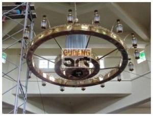 Memasang Lampu Gantung Nabawi Berkualitas Dari Produsen Terbaik