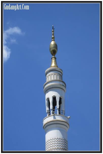 Contoh Mustaka Masjid dari Tembaga Kuningan 2