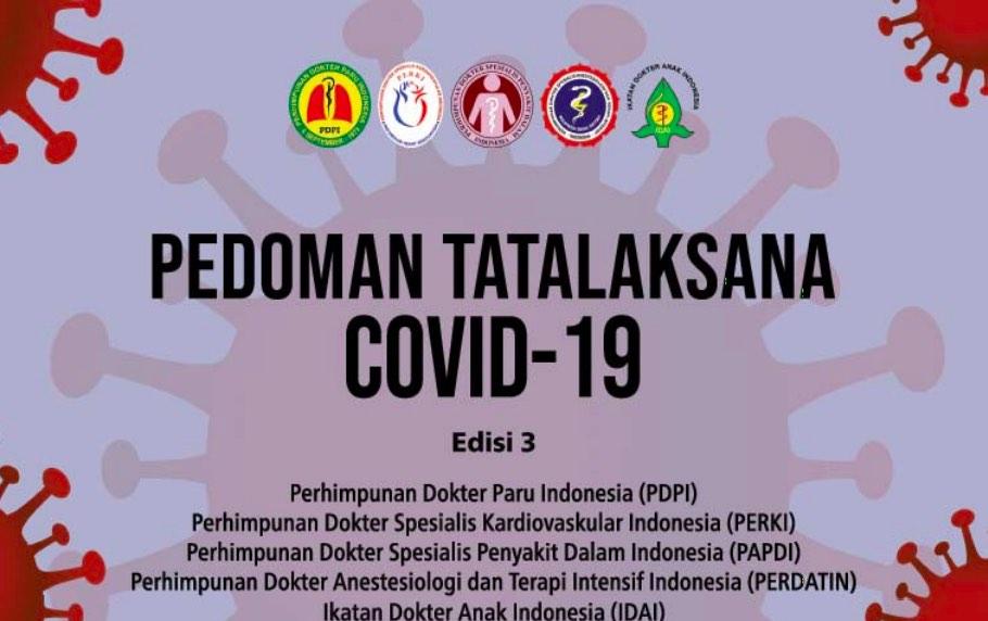 Update Buku Pedoman Tatalaksana COVID-19 Edisi 3