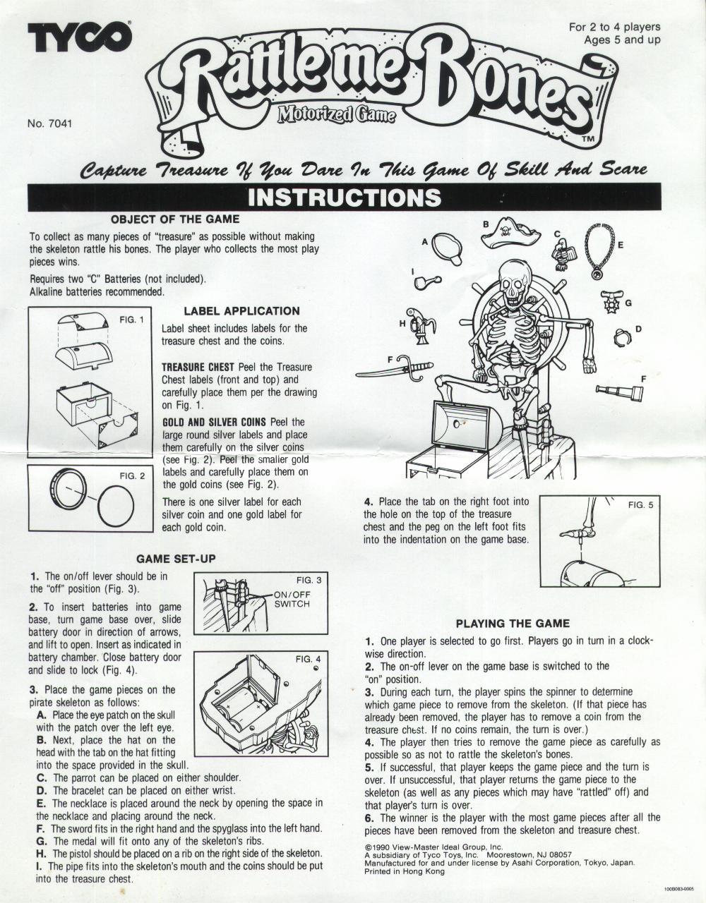 I Spy Snap Game Instructions