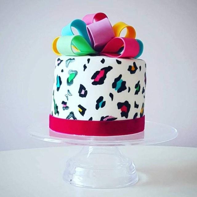 Mistress of Sponge birthday cake