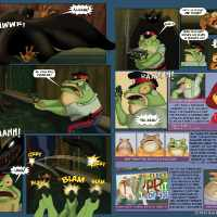 Super Newts Comic3 Fangless Vampire_page2and3