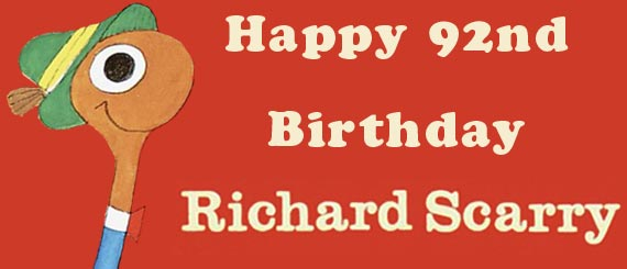 Happy Birthday Richard Scarry