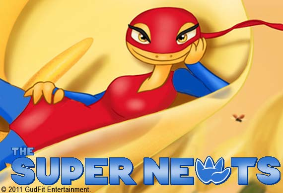 Express News Article - Super Newts - GudFit Entertainment