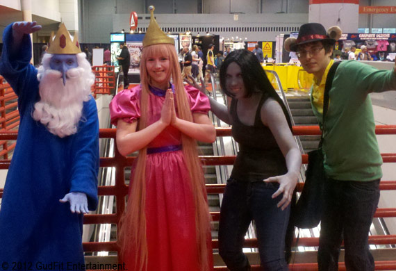 C2E2 - Adventure Time - GudFit Entertainment