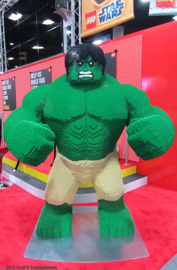 San Diego Comic Con - Hulk Lego - GudFit