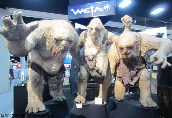 San Diego Comic Con - Weta Trolls - GudFit