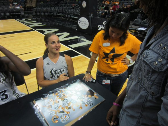 SilverStars-Becky Hammon-GudFit Entertainment
