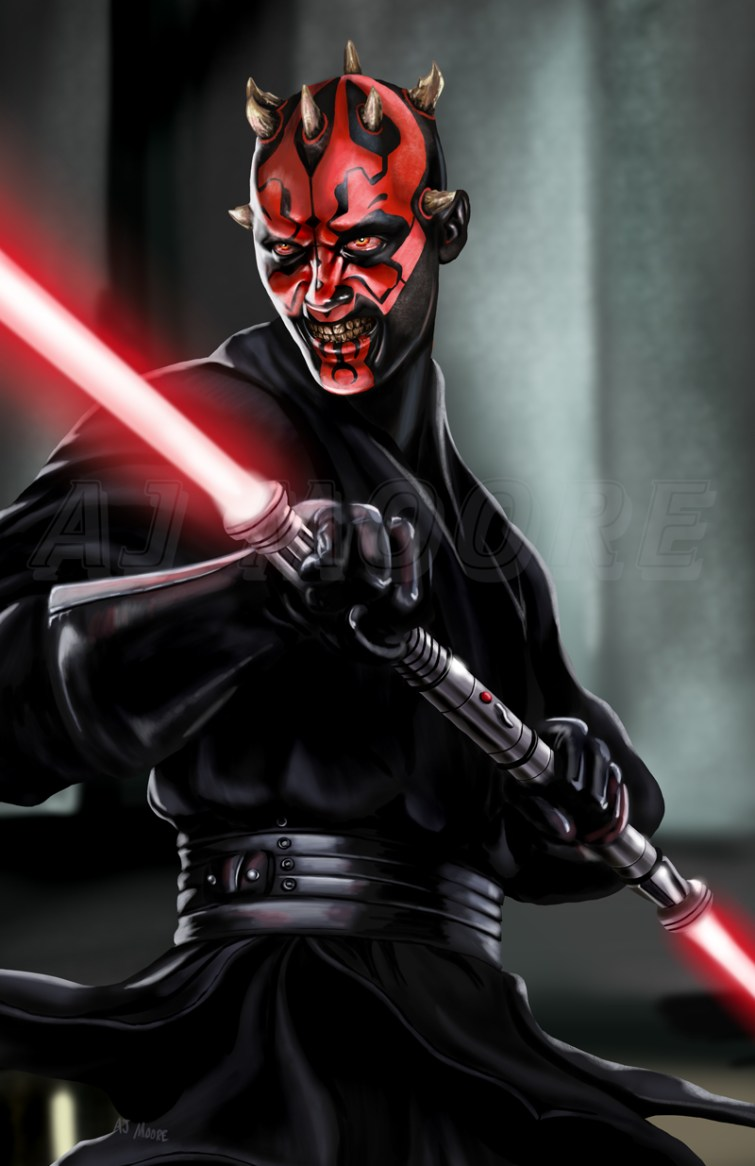 Darth Maul - by AJ Moore