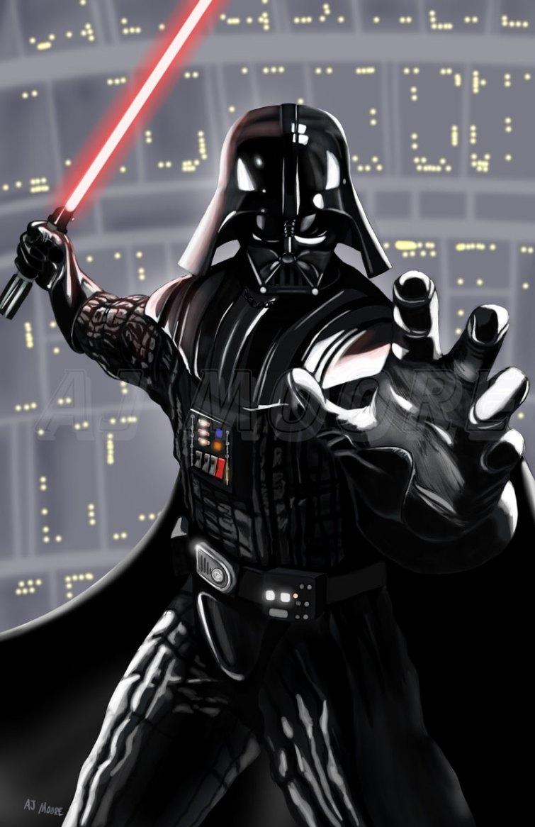 Darth Vader - by AJ Moore