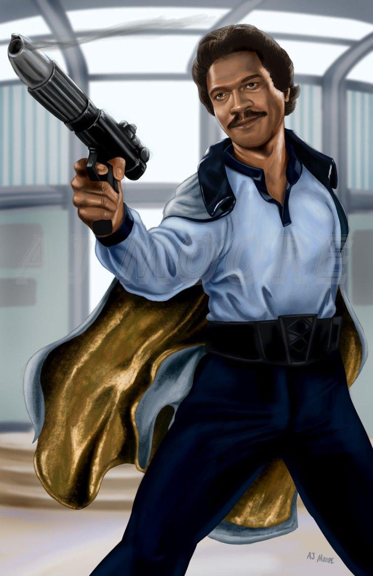 Lando Calrissian -by AJ Moore