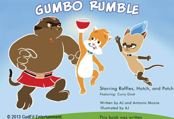 Dorse and Doose book2: Gumbo Rumble