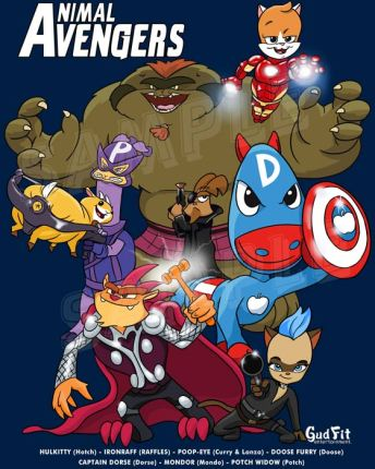 Animal Avengers by Gudfit