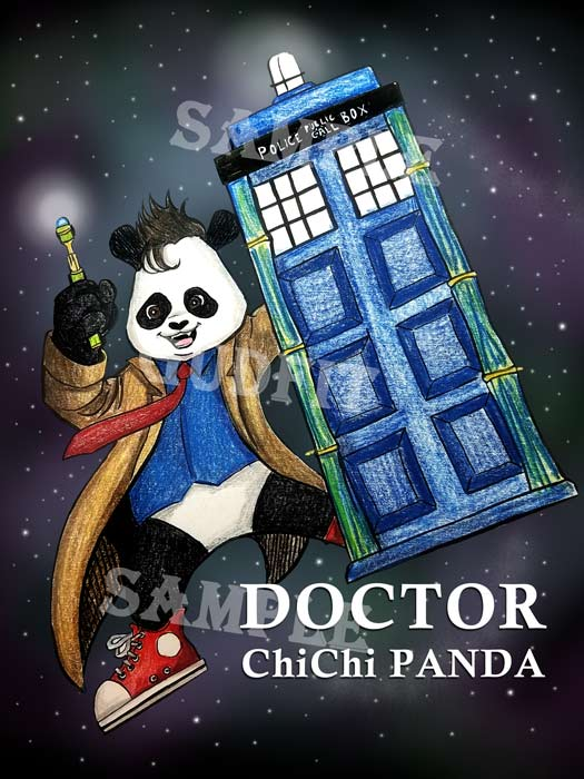 Ten and Three Fourths Doctor ChiChi Panda!