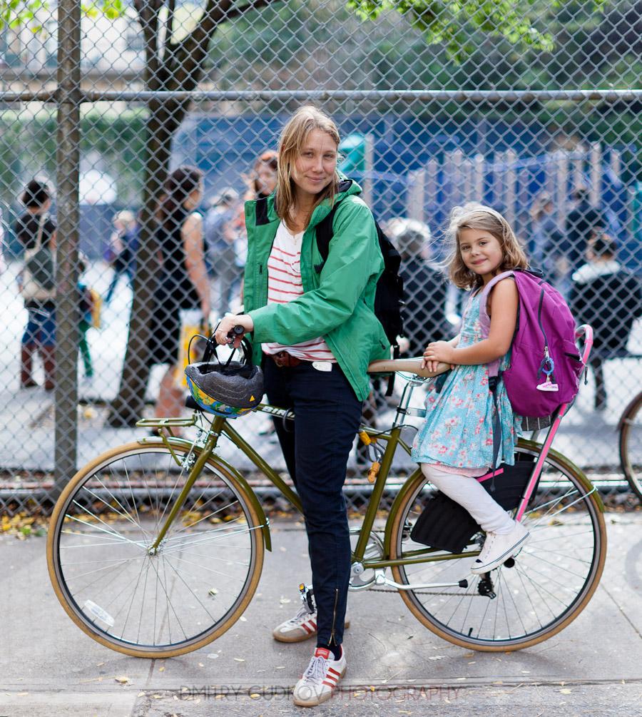Image result for mother and daughter on bike together