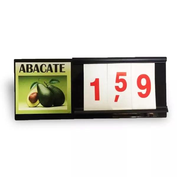Placa para Hortifruti (Placa de Preços) 5und 1