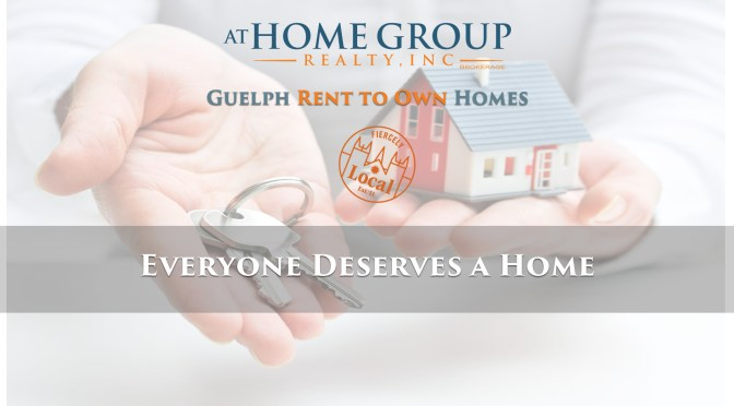Guelph Rent to Own Homes Community