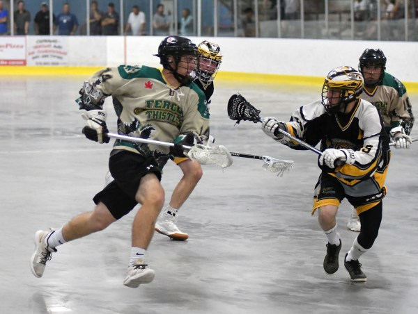 Photos: Fergus Thistles-Brantford junior C lacrosse