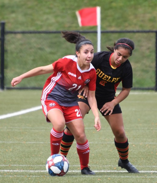 Photos: Guelph Gryphons-York OUA women's soccer