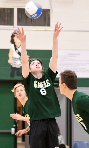Photos: Guelph CVI-St. James senior boys volleyball semifinal