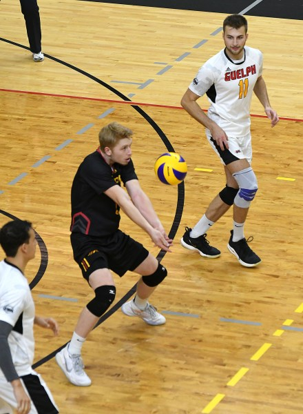 Photos: Guelph Gryphons-Ryerson men's volleyball