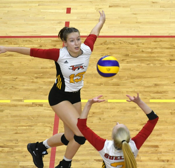 Photos: Guelph Gryphons-Western women's volleyball