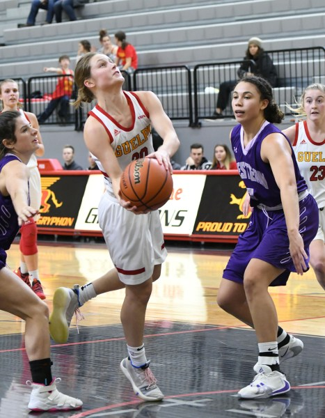 Photos: Guelph Gryphons-Western women's basketball