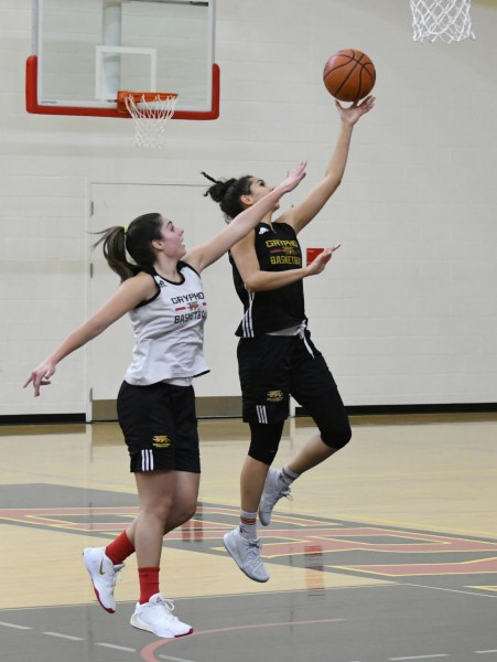 Gryphon basketball women set to take on Notre Dame