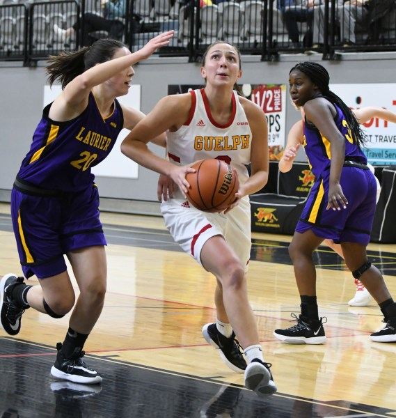 Photos: Guelph Gryphons-Laurier women's basketball