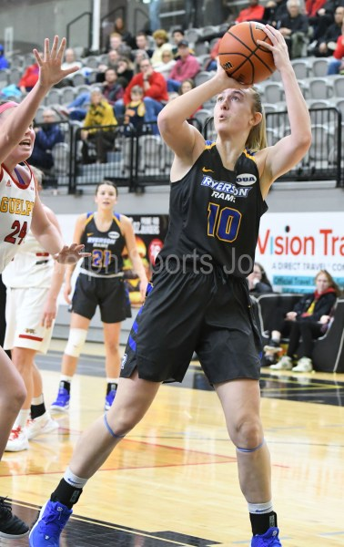 Photos: Guelph Gryphons-Ryerson women's basketball