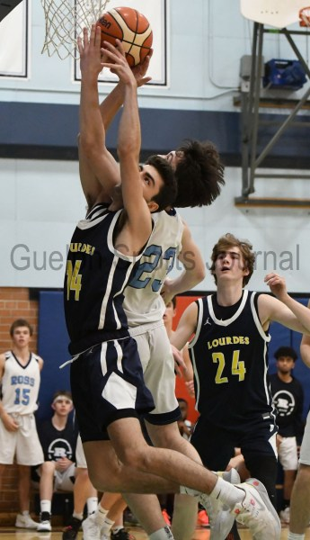 Photos: Ross-Lourdes senior boys' basketball