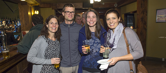 Guelph Victors socialize at year-end party