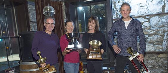 Guelph Victors 2017 trophy winners
