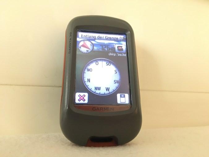 GPS, Gerät, Garmin, Dakota, Geocaching, Fahrrad, Navigation