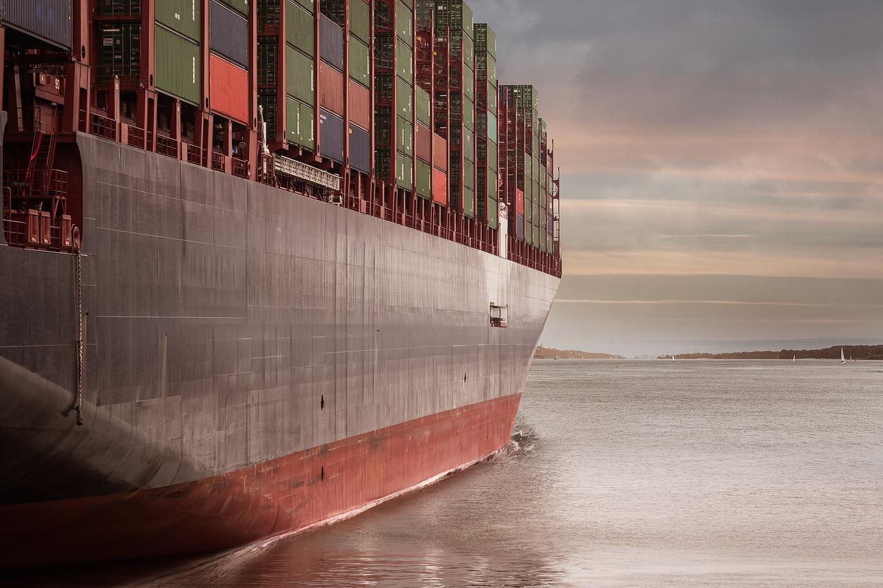 Überseeumzug Ausland Container