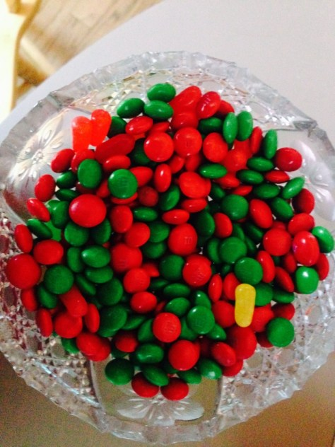 big bowl of candy