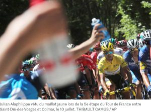 Tour de France : les cétones, « carburant » du moindre mal