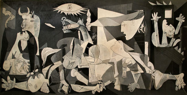 Guernica 1937, Pablo Picasso. Courtesy of Peter Horree / Alamy