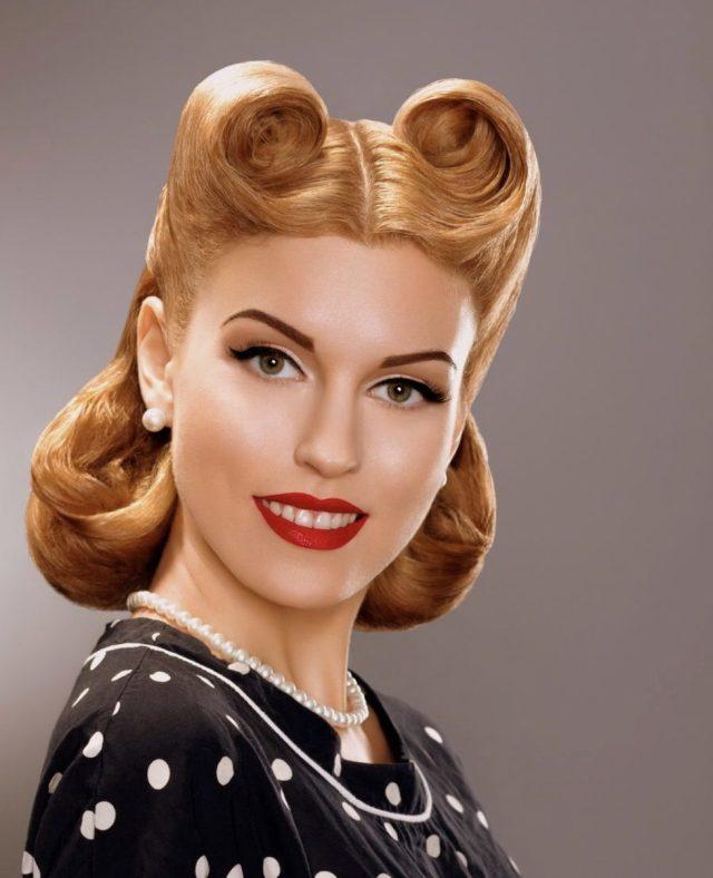 gladys raggs looks at retro hairstyles | guernsey retro festival