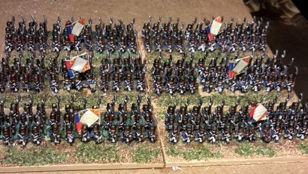 Français 1812 (figurines Baccus 6mm)