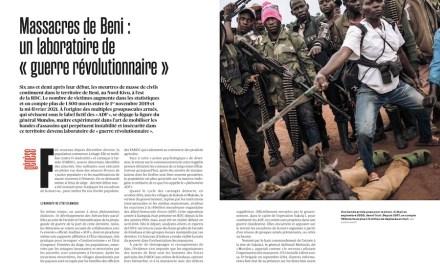 Crimes contre l'humanité et Massacres de Beni: retour sur la genèse