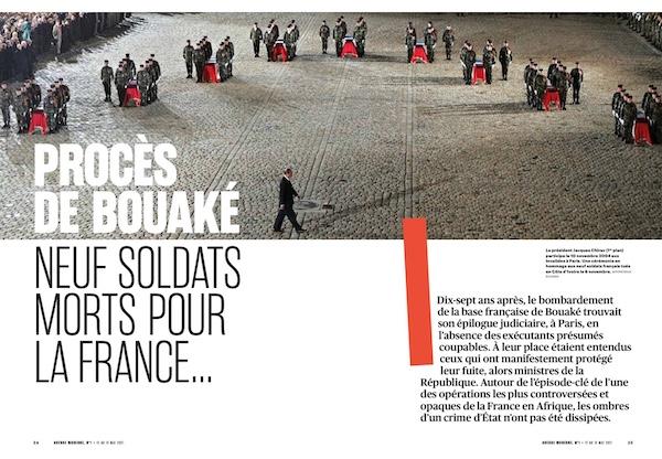 Procès de Bouaké: neuf soldats morts pour la France…