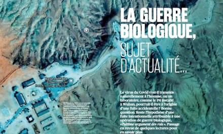 La guerre biologique, sujet d'actualité…