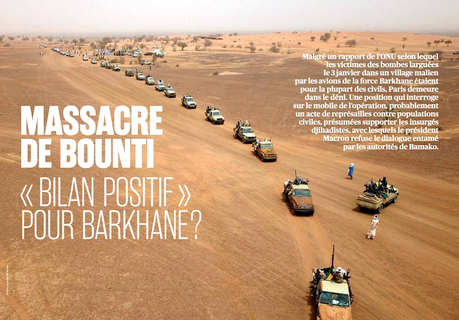 Le massacre de Bounti, «bilan positif» pour Barkhane?