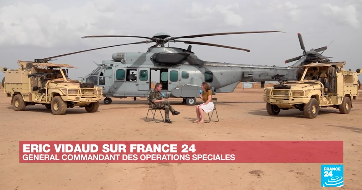 Général Eric Vidaud - France24