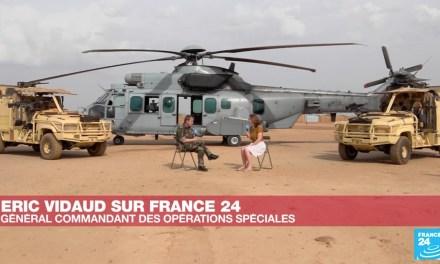 Le général Éric Vidaud sur France 24, une interview très «spéciale»…