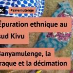 #savemulenge: Épuration ethnique au sud Kivu
