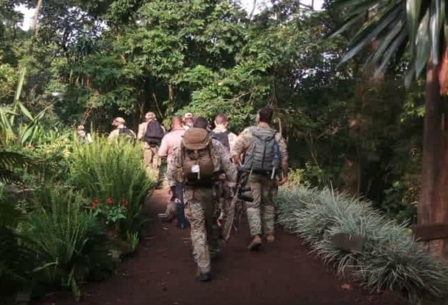 Éléments des forces spéciales américaines dans le parc des Virunga